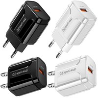 Fast Quick Charging Eu US QC3.0 Power Adapter Wall Charger For IPhone Samsung Andriod Phone PC mp3