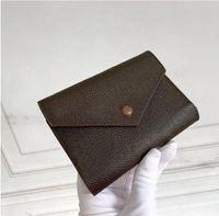 여러 가지 빛깔의 M41938 지퍼 포켓 빅토린 동전 지갑 여성 미니 Pochette 소형 지갑 키 코인 카드 홀더 케이스 액세서리 지갑