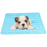 Питомники ручки Собачья коврик охлаждающий летняя площадка для собак кошка одеяло диван дышащий домашнее животное моющийся кот / собака / щенки / котят