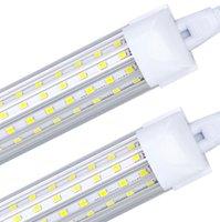 6 팩, LED 샵 라이트, 8ft 튜브 100W 14000LM 6000K, 차가운 흰색, U 모양