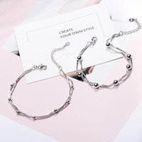 Charm Bracelets Bracelet 2021 Multi-layer Transfer Bead For Women Copper Ball Snake Bone Chains Jewelry Pulseras Mujer