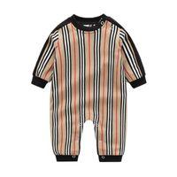 Rompers Baby Boy Одежда Детский дизайнер Одежда Мальчики Весна и осень Новорожденные цельные с длинным рукавом ползание