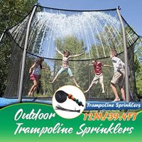 Watering Equipments Trampoline Sprinkler Outdoor Kids Water Misting Misters Cooling System Summer Fun For Children &xw