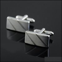 & Tie Clasps, Tacks Jewelryvintage Mens Wedding Party Cuff Links Cufflinks French Shirt Cufflink For Men Christmas Gift Drop Delivery 2021 A