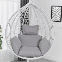 Swing Chair Kissenmatte Hängen Indoor Outdoor-Terrasse Eierstuhl Sitzkissen (ohne Stuhl) 1913 V2