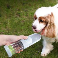 Copa de agua para mascotas 220ml Viajar Portátil Portátil Botella Botella Alimentadores