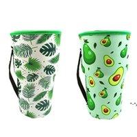 Tapa de la botella Cubierta Transporte Webware Bolsas Neopreno Mangas aisladas Bolsa Sunflower Béisbol Copas de café Copas de café Botellas de agua Manga 30 oz NHE8473