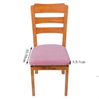 Cubiertas de silla elástica de color puro Plata FOX FUD CUBIERTE CUBIENCIA CUBIERTA DE LA CUBIERTA DE LA ACUERDA DE LA CUADA DE LA ACUERDA 10 COLORES FWF6960