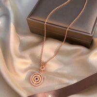Chaînes 2021 Sterling Sterling Silver Bijoux original 1: 1 Charm BVL Collier Cadeau