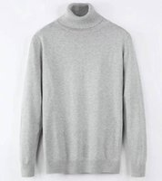 Crocodile brand Warm Winter High Neck Thick Sweater Men Turtleneck Designer Mens Sweaters Slim Fit Pullover Knitwear Male Double collar