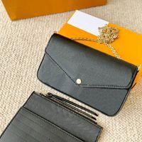 Mode Luxurys Designer Crossbody Womens Handtaschen Geldbörsen Geldbörsen Kartenhalter Handtasche Schulter-Taschen-Mini-Tasche Brieftasche 2021