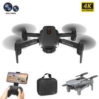Drones 2021 S88 Mini Drone 4 K 1080 P 720 P HD Çift Kamera Helikopter WIFI FPV Katlanabilir Quadcopter çocuk Oyuncak