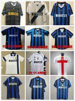 Finales 2009 Milito Sneijder Zanetti Retro Soccer Jersey Eto'o Football 97 98 99 02 03 DjorkiAff Baggio Ronaldo Adriano Milan 10 11 07 08 09 Inter Batistuta Zamorano