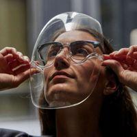 Kenbo eyewear Transparent Plastic Glass Anti Fog Clear Face Shield Mask Sunglass{category}