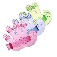 애완 동물 강아지 목욕 브러시 장갑 마사지 손바닥 손가락 브러쉬 미용 용품 애완 동물 청소 용품