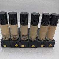 العلامة التجارية Maquiagem 6 ألوان 30ML ماكياج الأساس تمييز المخفي متوسطة التغطية السائل في المخزون