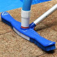 Pool & Accessories 19-inch Brush Dirt Suction Vacuum Head Plastic Swimming Washing Tool For SPA Bath Tub Floors Walls Tiles