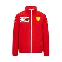 F1 Formula One Team Racing Suit Giacca Fashion New Fleece Autumn Autunno e Inverno Indossare Sport all'aperto Maglione caldo Giacca Casual Giacca antivento Le grandi dimensioni possono essere personalizzate