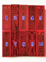Dekoratif Nesneler Figürinler Taoist Makaleler, Mühür, FAYİN, TAISUI RUNE, WENCHANG BÜYÜK BOYUTU 17 CM, Nefis El Sanatları