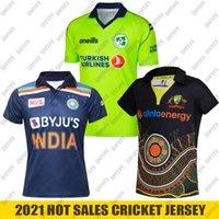 2021 الهند أيرلندا لكرة القدم جيرسي تيز أستراليا الأصليين blackcaps زيلندا الكريكيت الفانيلة قميص T20