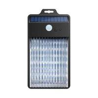 야외 벽 램프 LED 태양 광 방수 인간의 신체 적외선 센서 3 모드 안뜰 계단 울타리에 대 한 거리 램프