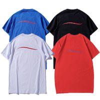 Womens Fashion Tshirts Casual Bequeme einfache Muster Kurzarm Frauen Sport Tops Herren T-Shirt Sommer Rundhalsausschnitt Welle Herren T-Shirts 2021