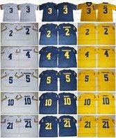 Michigan Wolverines 3 Rashan Gary College Football Jersey 4 Jim Harbaugh 2 Charles Woodson 5 Jabrill Pfeffer 10 Tom Brady 21 Desmond Howard genäht Top-Qualität