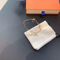 Unisex liefde armband mode armbanden voor man vrouwen sieraden verstelbare ketting kanaal 1 kleuren met doos