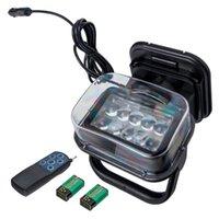 Werklamp 50W CREE LED Afstandsbediening Zoeken Lamp Boot Camping Magnetisch