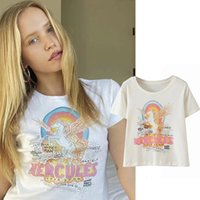 Fashion T-shirts Girl High Quality Soft Cotton Summer Women Teas Streetwear Easy Fit Femme Vestidos Dropshipping