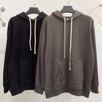 Fear of God   Fog Double Line Basic Stitched Oversized Hoodie