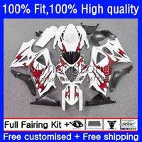Körperspritzgussform für Suzuki Rote Flammen K7 GSXR 1000 CC 1000cc 07 08 Karossergebnisse 27No.52 GSXR1000 GSX-R1000 2007 2008 GSXR1000CC GSXR-1000 2007-2008 OEM-Verkleidungsset