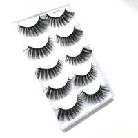 False Eyelashes Magnetic 3D Mink Makeup Lashes Eyeliner Tweezers Set Natural Short Faux Cils