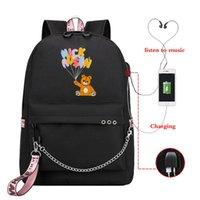 Plecak Nick Austin Drukuj torby szkolne dla nastoletnich dziewcząt 2021 Podróży kobiet Bookbags Teen Student SchoolBag Bolsas Escolar
