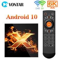 VONTAR X1 Smart tv box 4g 64gb 4K 1080p 2.4G&5G Wifi BT5.0 Voice Assistant Youtube TVBOX Set Top Box