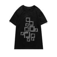 Abbigliamento da uomo T-shirt da ricamo T-shirt Mentes Polos Women Couples Estate Top Quality Paris Street Tee Men S Abbigliamento Abbigliamento Casual Manica Corta Maglione