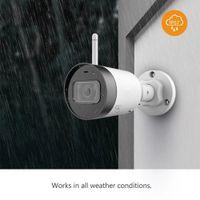 Waterproof IP Camera Bullet Lite 4MP Built-in Microphone Alarm Notification 30M Night Vision Video Surveillance Wifi