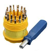 Multifonctionnel 16 en 1 Preçage Electronics Tournevis Définir une surveillance de téléphone portable Réparation Multi Toolt Cell Réparation