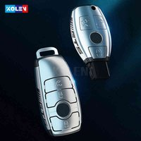PC Car Remote Key Cover Case Shell Fob For Mercedes A B C E S Class W204 W205 W212 W213 W176 GLC CLA GLA AMG W177 Keychain