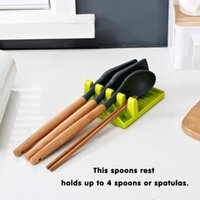 Table Runner Soup Ladle Fruit Knife Spoon Rests Pot Cover Holder Storage Shelf Tableware Rack Mat Kitchen Organizer Cooking Tools