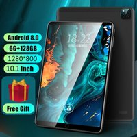 Tablet PC 2021 Android 9.0 OS 10 Inch 6GB RAM 128GB ROM Octa Core 1280*800 HD IPS Screen Phone Call GPS 10.1