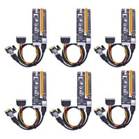 Express 16X To 1X Powered Riser Adapter Card With 60cm USB 3.0 Extension Cable And 4-Pin MOLEX SATA Power Computer Cables & Connectors