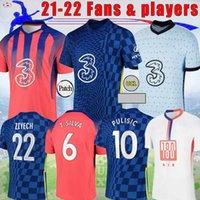 2021 2022 CFC Pulisic Abraham Kante Soccer Jersey Ziyech Lampard Odoi Willan Giroud 21 22 Player Version الصفحة الرئيسية Mount Camiseta de Football Shirt S-4XL