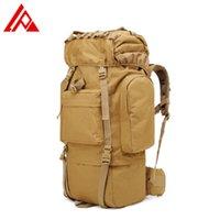 Multifunktionale lupe wasserdichte große Kapazität Outdoor Camouflage Reisetasche 65l taktischer Rucksack