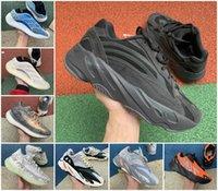 En Kaliteli 700 Kanye Koşu Ayakkabıları V2 V3 Kil Kahverengi Atalet Srphym Alvis Azael Azareth Dalga Yansıtıcı 380 Runner Mist Alien Erkek Spor Sneaker
