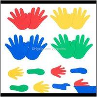 Oyunlar Etkinlikler Çocuklar El Ayak Duyusal Oyun Oyunu Eğitici Oyuncaklar Çocuklar için Açık Kapalı Cling Atlama Etkinlik Anaokulu Prop S Wuoqt