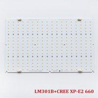 Samsung QB288 V2 الكم led تنمو لوحات مصباح LM301B 3000K / 3500K مع كري XPE2 660nm ديي ضوء
