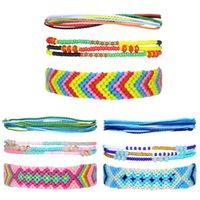 Kimter String Bracelets for Women Friendship Beaded Summer Anklet Jewelry Handmade Waterproof Braided Rope Bangle Q579FZ