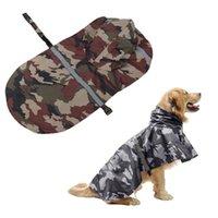 Vêtements de chien M-XXL Respirable Pierre Rainfe de pluie Reflecteur Rainage imperméable à l'eau manteau de pluie vêtements doux