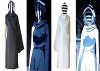 Tokyo Ghoul II Nashiro Kurona Yasuhisa Costume 2 Colors Black & White Cosplay
